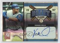 Vernon Wells, Johnny Estrada #/25