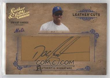 2004 Donruss Leather & Lumber - Leather Cuts - Glove #LC-15 - Dwight Gooden /224