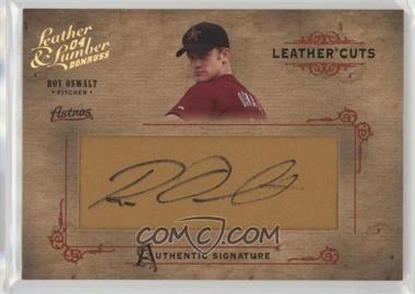 2004 Donruss Leather & Lumber - Leather Cuts - Glove #LC-35 - Roy Oswalt /224