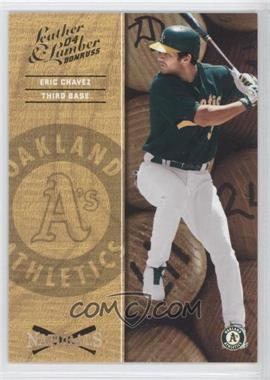 2004 Donruss Leather & Lumber - Naturals #N-1 - Eric Chavez /2499