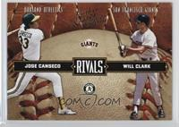 Jose Canseco, Will Clark /2499
