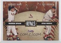 Warren Spahn, Stan Musial #/2,499