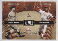 Bob Gibson, Roger Maris #/2,499