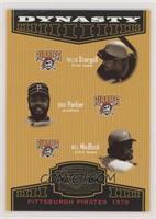 Willie Stargell, Dave Parker, Bill Madlock #/1,500