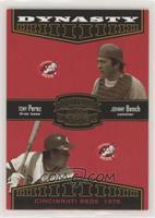 Tony Perez, George Foster, Johnny Bench, Joe Morgan [EXtoNM] #/1,500