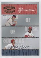 Lou Brock, Jim Edmonds, Stan Musial #/1,500