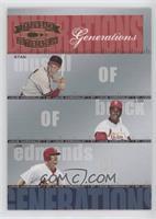 Lou Brock, Jim Edmonds, Stan Musial #/1,500