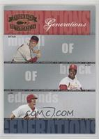 Lou Brock, Jim Edmonds, Stan Musial /1500
