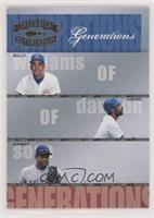 Billy Williams, Andre Dawson, Sammy Sosa /1500 [EX to NM]