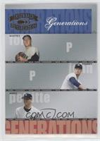Whitey Ford, Tommy John, Andy Pettitte #/1,500