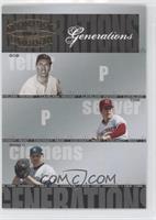 Tom Seaver, Bob Feller, Roger Clemens #/1,500