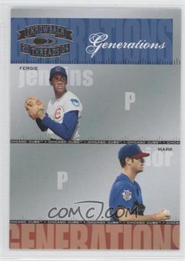 2004 Donruss Throwback Threads - Generations #G-6 - Fergie Jenkins, Mark Prior /1500