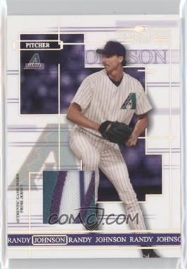 2004 Donruss Timelines - [Base] - Materials Prime [Memorabilia] #39 - Randy Johnson /125