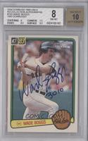 Wade Boggs /7 [BGS 8]