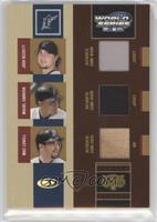 Josh Beckett, Miguel Cabrera, Mike Lowell #/100