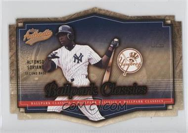 2004 Fleer Authentix - Ballpark Classics #2 BC - Alfonso Soriano