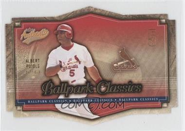 2004 Fleer Authentix - Ballpark Classics #4 BC - Albert Pujols