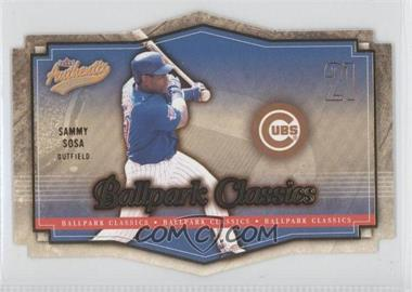2004 Fleer Authentix - Ballpark Classics #7 BC - Sammy Sosa