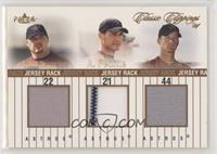 Roger Clemens, Andy Pettitte, Roy Oswalt #/99