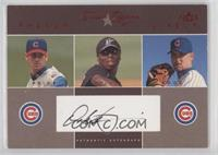 Dontrelle Willis, Mark Prior, Kerry Wood (Dontrelle Willis Autograph) [EX …
