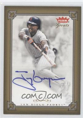 2004 Fleer Greats of the Game - Autographs #GBA-TG - Tony Gwynn