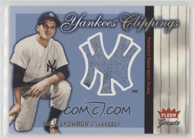 2004 Fleer Greats of the Game - Yankees Clippings #YC-BS - Moose Skowron