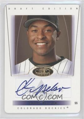2004 Fleer Hot Prospects Draft Edition - [Base] - Die-Cut #81 - Chris Nelson