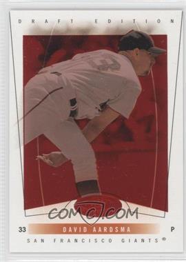 2004 Fleer Hot Prospects Draft Edition - [Base] - Red Hot #69 - David Aardsma /150