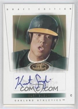 2004 Fleer Hot Prospects Draft Edition - [Base] #110 - Kurt Suzuki /299