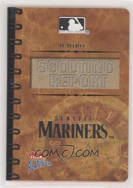 2004 Fleer Platinum - Scouting Report #ICSU - Ichiro Suzuki /400