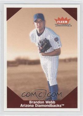 2004 Fleer Tradition - [???] #10 - Brandon Webb