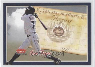 2004 Fleer Tradition - [???] #10TDH - Jose Reyes