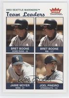 Bret Boone, Jamie Moyer, Joel Pineiro