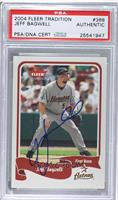 Jeff Bagwell [PSA/DNA Certified Auto]