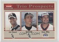 Josh Stewart, Neal Cotts, Aaron Miles