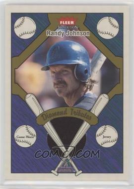 2004 Fleer Tradition - Diamond Tributes - Jersey [Memorabilia] #DT-RJ - Randy Johnson