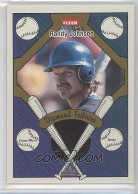 2004 Fleer Tradition - Diamond Tributes - Jerseys #DT-RJ - Randy Johnson