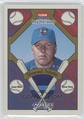 2004 Fleer Tradition - Diamond Tributes - Patch [Memorabilia] #DTP-RH - Roy Halladay /50