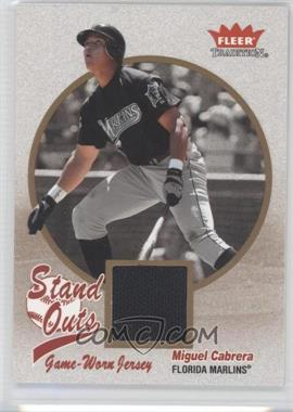 2004 Fleer Tradition - Stand Outs #SO-MC - Miguel Cabrera