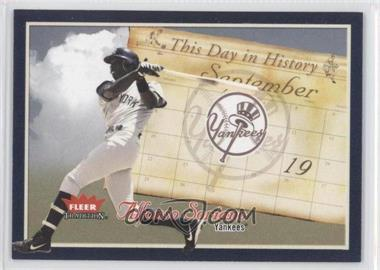 2004 Fleer Tradition - This Day in History #TDH-12 - Alfonso Soriano