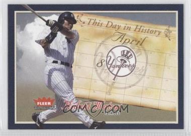 2004 Fleer Tradition - This Day in History #TDH-14 - Hideki Matsui