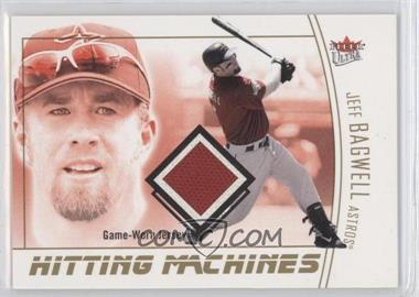 2004 Fleer Ultra - Hitting Machines Jerseys - Gold Medalion #HM-JB - Jeff Bagwell /50