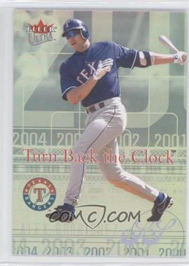 2004 Fleer Ultra - Turn Back the Clock #2 TBC - Alex Rodriguez