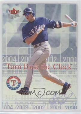 2004 Fleer Ultra - Turn Back the Clock #2 TBC - Alex Rodriguez