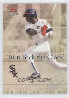 2004 Fleer Ultra - Turn Back the Clock #20 TBC - Sammy Sosa