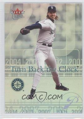 2004 Fleer Ultra - Turn Back the Clock #3 TBC - Randy Johnson