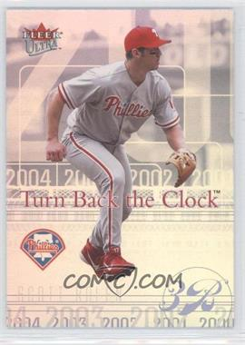 2004 Fleer Ultra - Turn Back the Clock #8 TBC - Scott Rolen