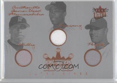 2004 Fleer Ultra - Ultra Kings Memorabilia #UK-W/S/P - Dontrelle Willis, Alfonso Soriano, Albert Pujols /33