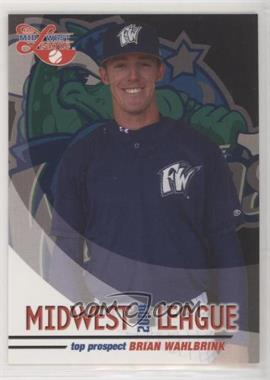 2004 Grandstand Midwest League Top Prospects - [Base] #BRWA - Brian Wahlbrink