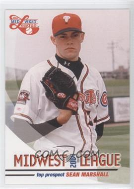 2004 Grandstand Midwest League Top Prospects - [Base] #SEMA - Sean Marshall